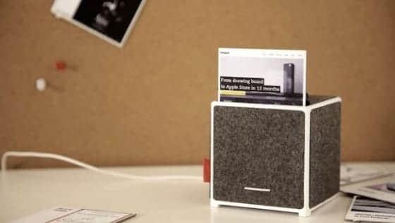 oksu blækfri zink printer