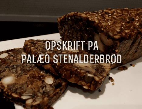 Video Opskrift: Bag et sundt Palæo Stenalderbrød for hvede- og glutenallergikere. Uden mælkeprodukter og mel