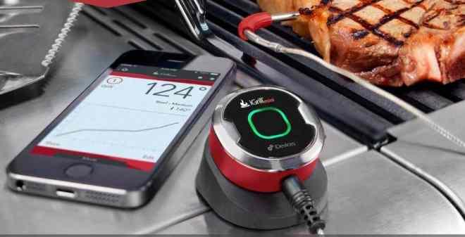 iGrill, Weber, grilltilbehør, gadget, tilbehør til smartphone, moderne kok, stegetermometer, fars dag gave