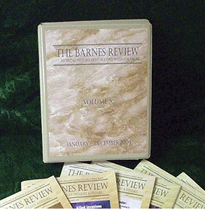 The Barnes Review binder