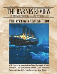 The Barnes Review, April 1997