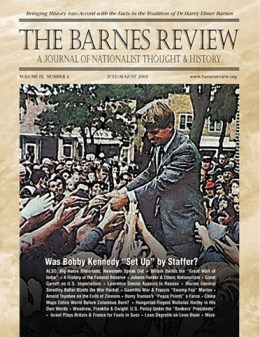The Barnes Review, July/August 2003