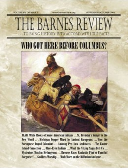 The Barnes Review, September/October 2001