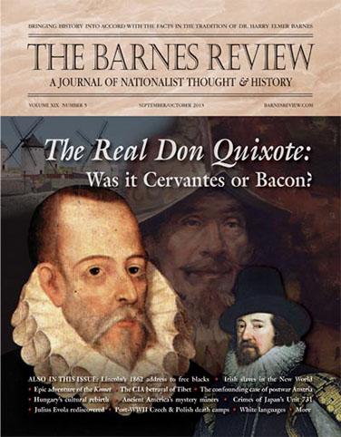 The Barnes Review, September/October 2013