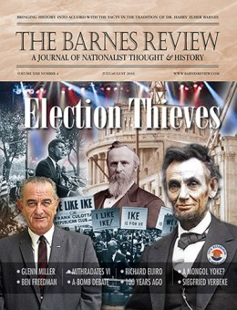The Barnes Review, July/August 2016