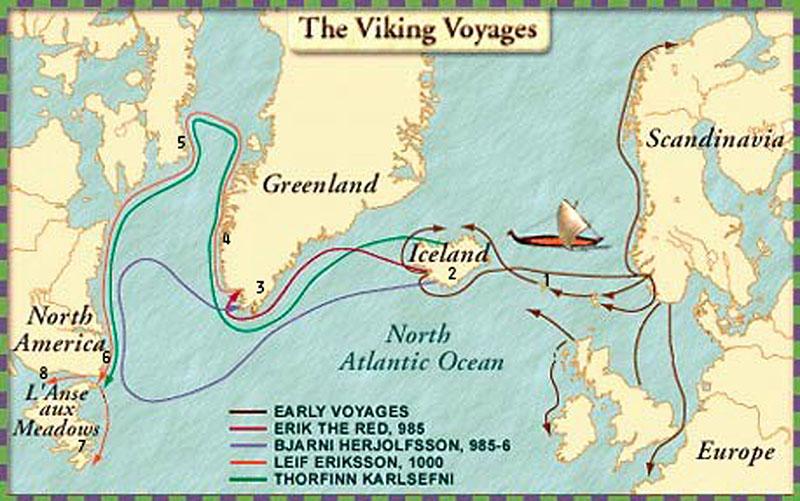 Poetry about Vikings in America