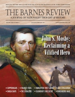 THE BARNES REVIEW, JANUARY/FEBRUARY 2017