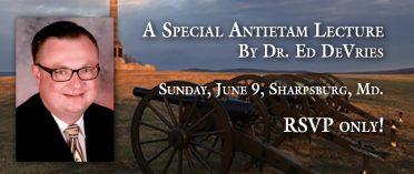 DeVries Antietam Lecture