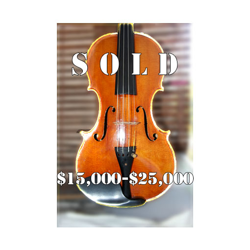 Tomas Pilar Violin