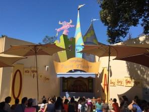 Fairyland puppet theater. Aspiring Kermits have to start somewhere.