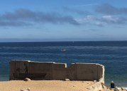 Monterey Bay. Where even the graffiti is lovely.