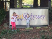 CuriOdyssey: one extrovert, one extra hungry child.