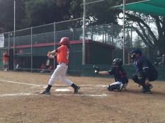 Little swingers at Little League.