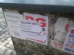 La risposta al lavoro meraviglioso in Bangalore: diventa pizzaboy per quattordicimila Rupie al mese, e fanculo al Marketing Manager!