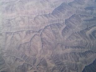 Sempre le montagne desertiche del Gansu, pare di essere su Marte!