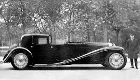 Bugatti royale Coupe Napoleon nro. 1