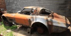 Abandoned Corvette