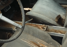 Kick Panel Rust