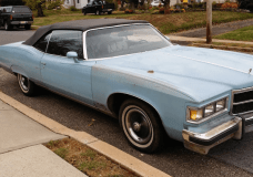 Convertible Pontiac