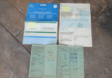 1938 Fiat Topolino original paperwork comes with this car