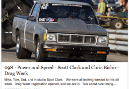 Scott Clark and Drag Week