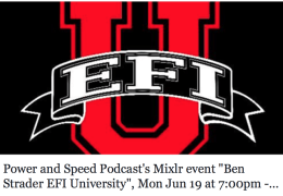 Ben Strader Founder EFI University - Doc Street Outlaws