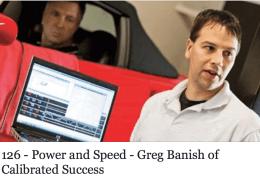 Greg Banish Calibrated Succes