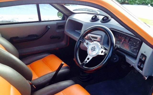 Orange Gold 1978 Mini Midas