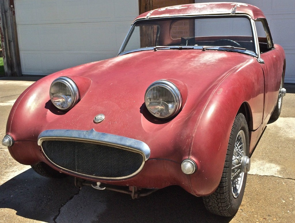 Spritely Project  1961 Austin Healey Bugeye Spritely Project  1961 Austin Healey Bugeye  sprite1