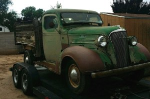 1937 Chevrolet Truck: Perfect Patina?