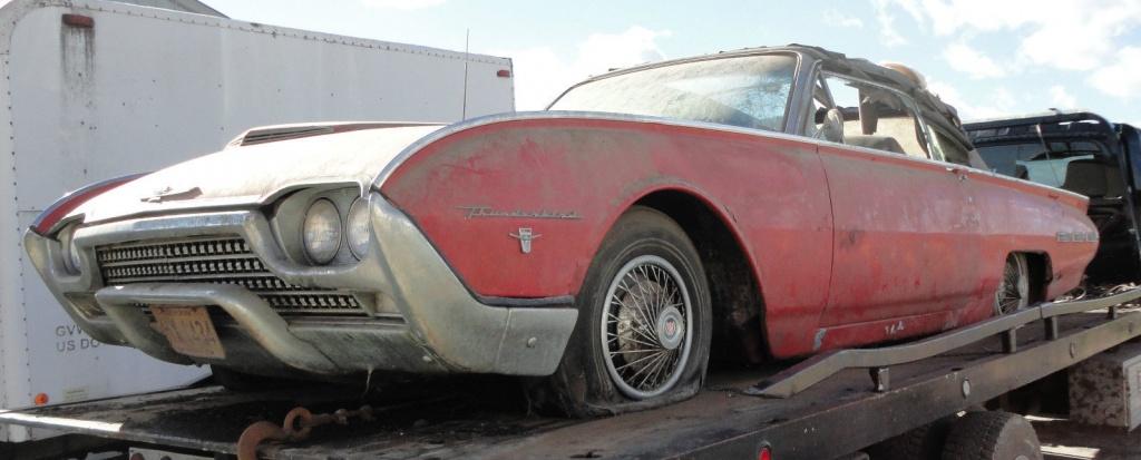 1962 Thunderbird Convertible Sports Roadster