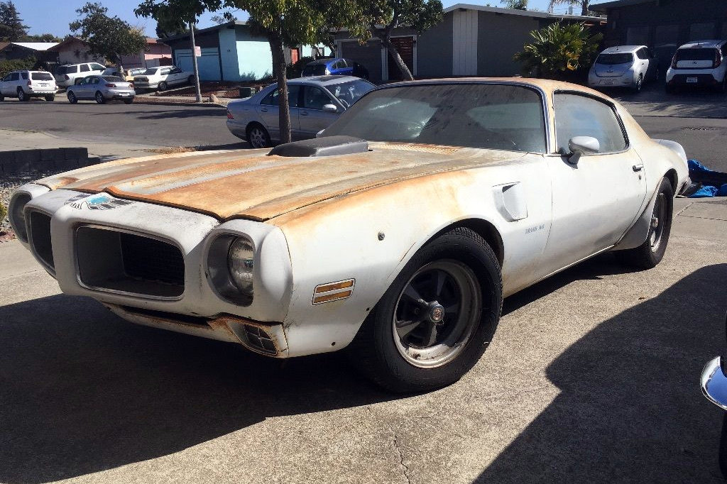 First Year Ram Air III 1970 Pontiac Trans AM