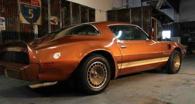 Fiero Bronze 1980 Trans Am Turbo WS6