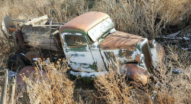 Outlived The Barn 1936 Chevy Pickup