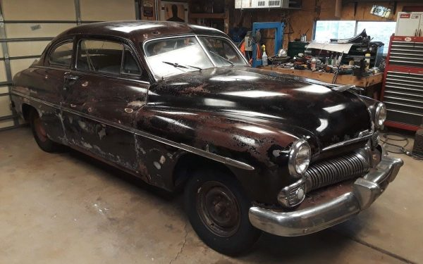 Blank Canvas Project: 1950 Mercury 2-Door Coupe