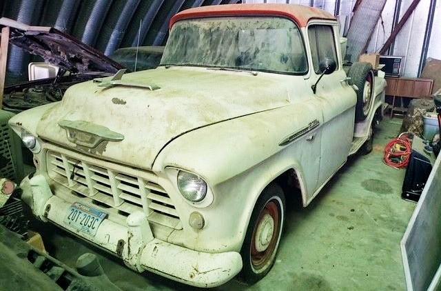 Stored 1956 Chevrolet 3100