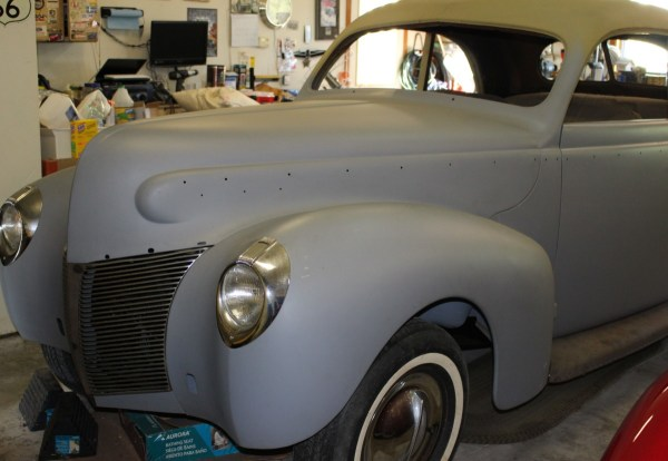 BF Classified: 1940 Mercury Club Coupe Project