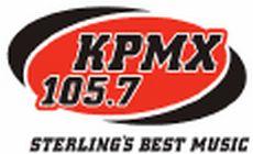 KPMX 105.7 logo small2
