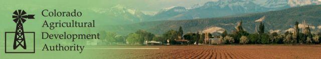 CADA-Colorado Agriculture Development Authority header