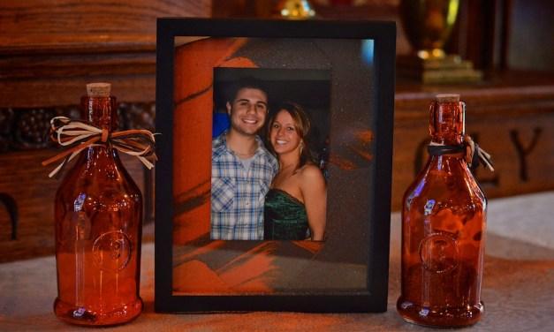 Megan and Rich at Jim Thorpe Memorial Hall