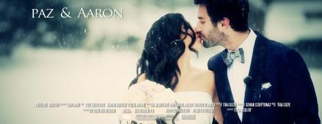 Paz & Aaron – Bethlehem Winter Wedding Film – Edge Restaurant