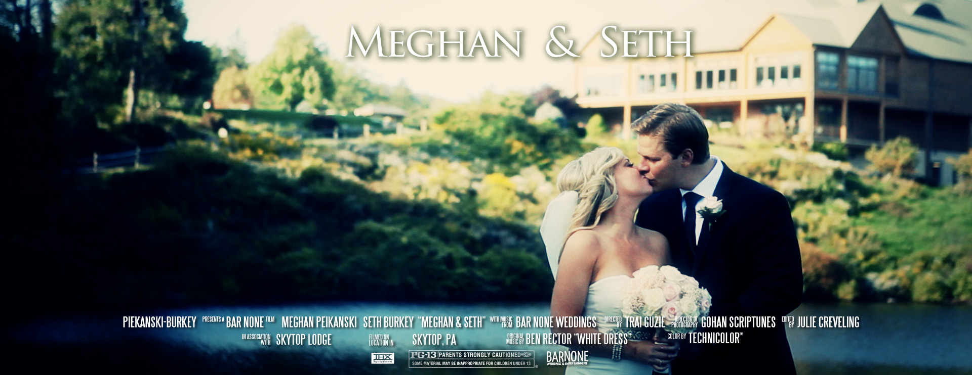 Skytop Lodge Pocono Cinematic Wedding Film Videography
