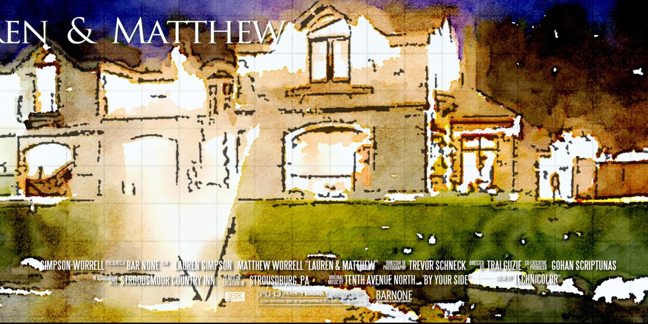 Lauren & Matthew – Stroudsmoor Terraview Wedding Film – Same Day Edit
