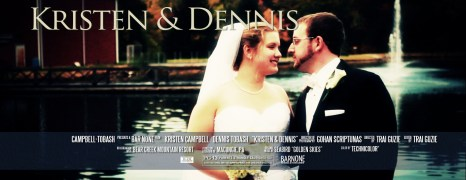 Kristen & Dennis – Bear Creek Mountain Resort Wedding Film – Same Day Edit