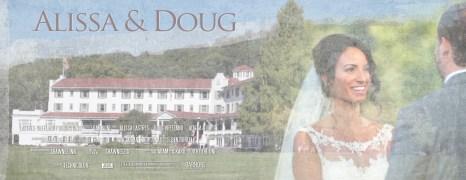Alissa & Doug – Shawnee Inn – Highlight Wedding Film