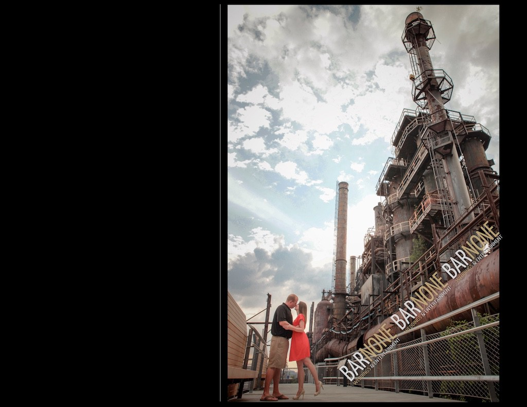 Steel Stacks Engagement - Bar None Photography 1595