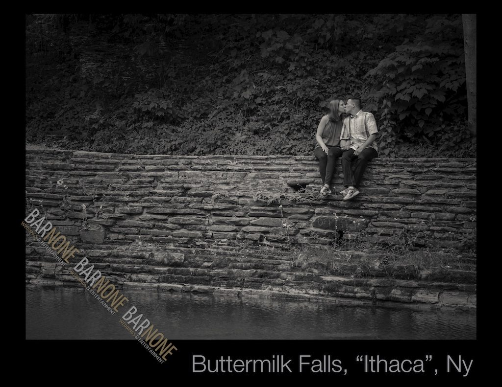 Buttermilk Falls Engagement Photography - Bar None Photography 1913