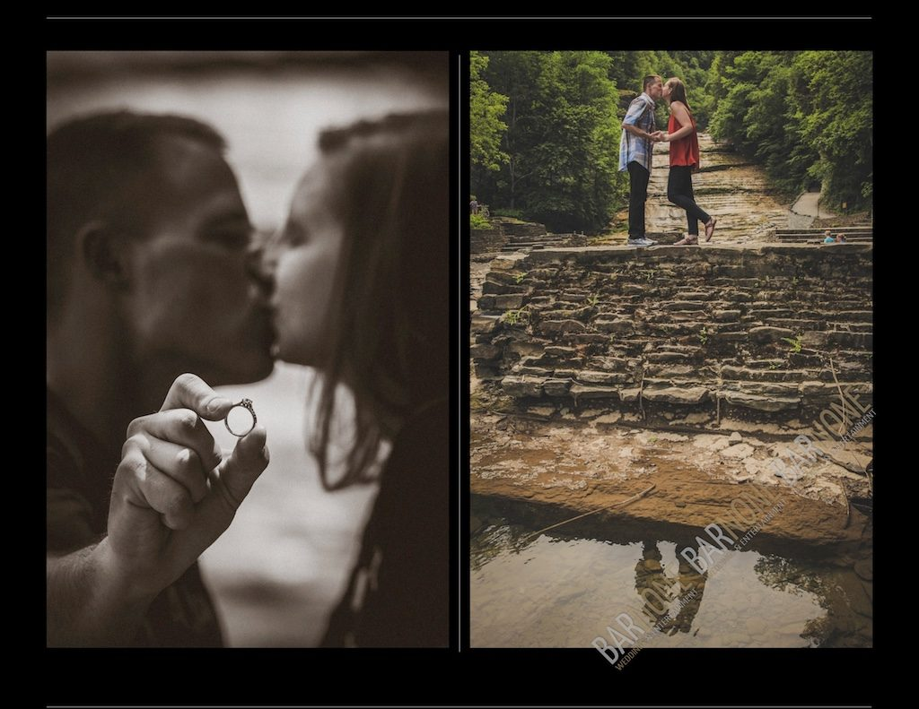 Buttermilk Falls Engagement Photography - Bar None Photography 1918