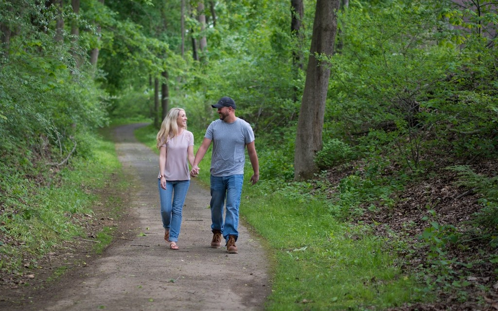 Valerie and Mark Engagement Photography at Lockridge Park