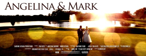 Angelina & Mark – Hideaway Hills Golf Club – Wedding Highlight Film – Poconos PA